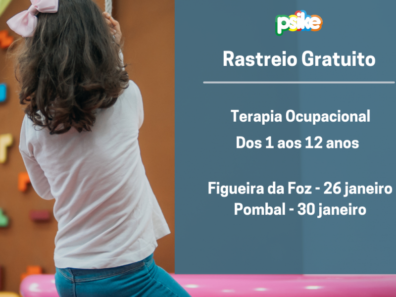 Rastreia Gratuito – Terapia Ocupacional (1 aos 12 anos